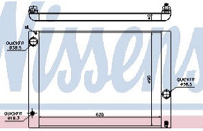 E60 {E63/E64 04-/E65/E66 01-} РАДИАТОР ОХЛАЖДЕН (см.каталог)