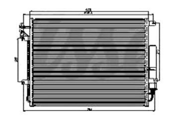 DISCOVERY {RANGE ROVER SPORT 05-} КОНДЕНСАТОР КОНДИЦ 4 (бензин) (см.каталог)