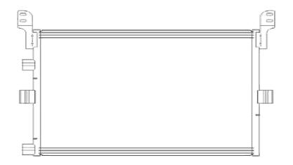 PREMIUM {MAGNUM 04-} КОНДЕНСАТОР КОНДИЦ (см.каталог)