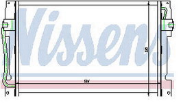 850 {+S70/V70/C70/XC70} КОНДЕНСАТОР КОНДИЦ (NISSENS) (AVA) (см.каталог)